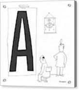 New Yorker October 30th, 1943 Acrylic Print