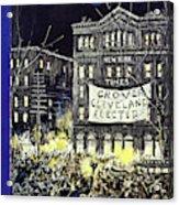 New Yorker October 31 1936 Acrylic Print