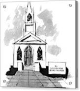 New Yorker October 3rd, 1994 Acrylic Print