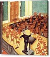 New Yorker October 6th, 1934 Acrylic Print