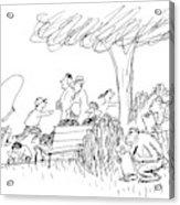 New Yorker October 7th, 1991 Acrylic Print