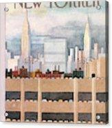 New Yorker October 8th, 1984 Acrylic Print