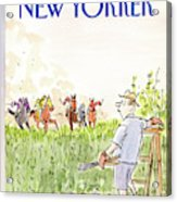 New Yorker September 21st, 1987 Acrylic Print