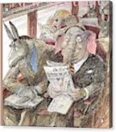 New Yorker September 28th, 1998 Acrylic Print