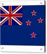 New Zealand Flag Acrylic Print