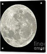 New Zealand Moon Acrylic Print
