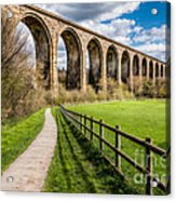 Newbridge Rail Viaduct Acrylic Print