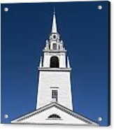 Newburyport Church Acrylic Print