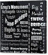 Newcastle Acrylic Print