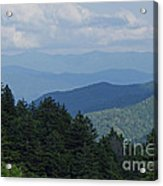 Newfound Gap Acrylic Print