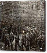 Newgate Prison Exercise Yard Acrylic Print