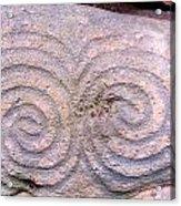 Newgrange Kerb Acrylic Print