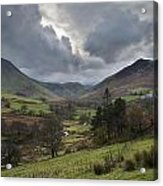 Newlands Valley Lake District National Park Acrylic Print