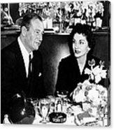 Newlyweds John Wayne, Left Acrylic Print