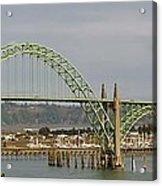 Newport Bay Bridge Acrylic Print