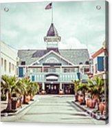 Newport Beach Balboa Main Street Vintage Picture Acrylic Print