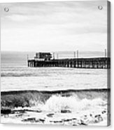 Newport Beach Pier Acrylic Print