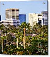 Newport Beach Skyline Picture Acrylic Print