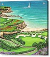 Newport Coast Acrylic Print