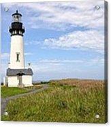 Newport Oregon Yaquina Lighthouse Acrylic Print