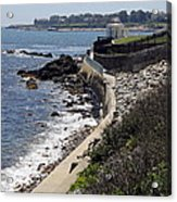 Newport's Cliff Walk View Acrylic Print