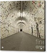 News In The Tunnel Acrylic Print