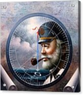 Imperishable  Map Captain 6 Acrylic Print