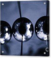 Newtons Cradle Acrylic Print