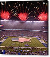 Nfl Sep 18 Lions At Giants Acrylic Print