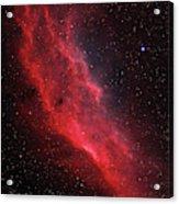 Ngc 1499, The California Nebula Acrylic Print