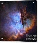 Ngc 281 Starbirth Region, Optical Image Acrylic Print