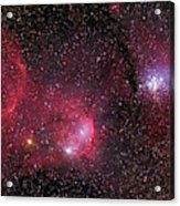 Ngc 3293, The Gem Cluster And Gabriela Acrylic Print