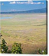 Ngorongoro Crater In Tanzania Africa Acrylic Print