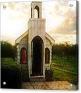 Niagara Church Acrylic Print
