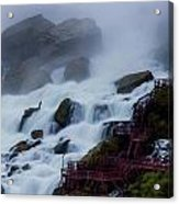 Niagara Falls At A Different Point Of View Acrylic Print