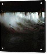 Niagara Falls By Night Acrylic Print