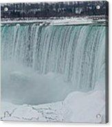 Niagara Falls Canada In Winter Acrylic Print