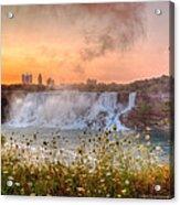 Niagara Falls Canada Sunrise Acrylic Print