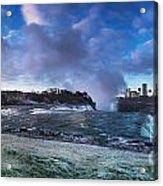 Niagara Falls Dramatic Panoramic Scenery Acrylic Print