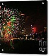 Niagara Falls Fireworks Acrylic Print