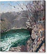Niagara Falls Gorge Acrylic Print