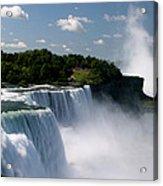 Niagara Falls Acrylic Print by Sandy Fraser