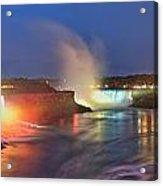 Niagara Falls Ultra Wide Panorama Acrylic Print