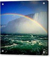 Niagara Rainbow Acrylic Print