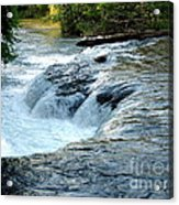 Niagara River Rapids Above Niagara Falls 2 Acrylic Print