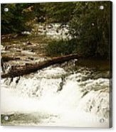 Niagra River Just Before The Falls Acrylic Print