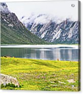 Nianbaoyuze National Geopark, Qinghai Acrylic Print