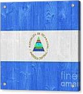 Nicaragua Flag Acrylic Print