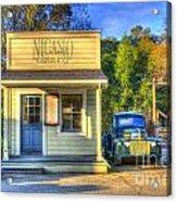 Nicasio Land Company Acrylic Print by Alberta Brown Buller