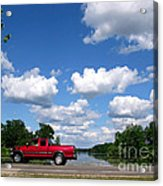 Nice Day For A Drive Acrylic Print